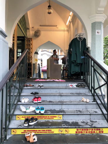 サルタンモスク(シンガポール)への入口