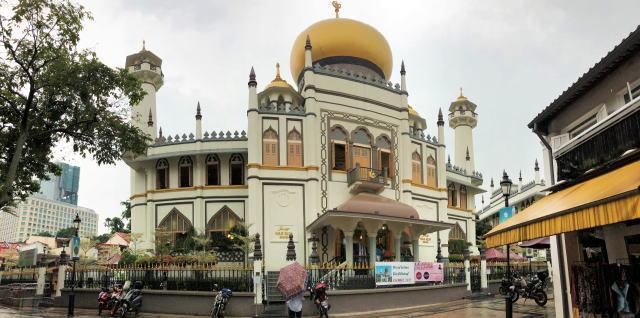 サルタンモスク(シンガポール)外観パノラマ