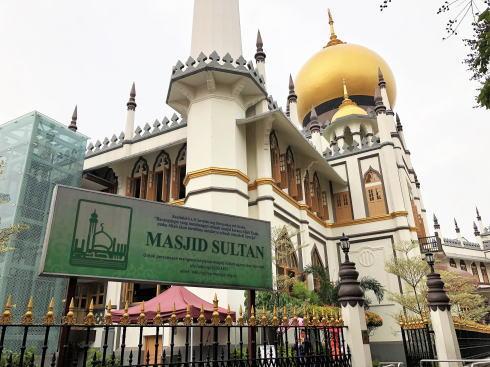 サルタンモスク(シンガポール)外観