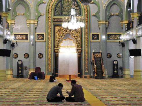 サルタンモスク(シンガポール)礼拝所