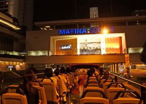 シンガポール キラキラ夜景バスツアー3