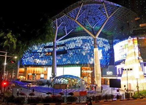 シンガポール夜景バスツアー、お買い物スポットも