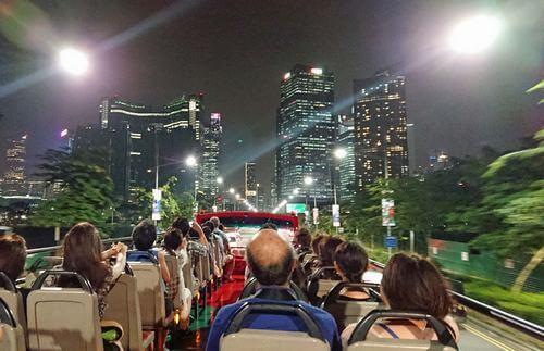シンガポール キラキラ夜景バスツアー2