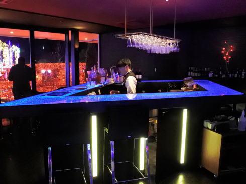 ハウステンボス 光のカフェ&バー 店内の様子