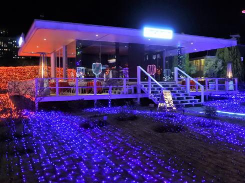 ハウステンボス 光のカフェ&バー 外観2