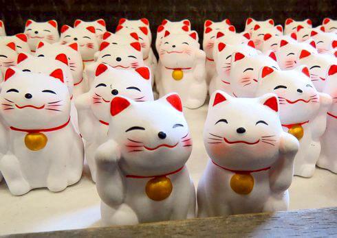宮島・大聖院の招き猫おみくじ