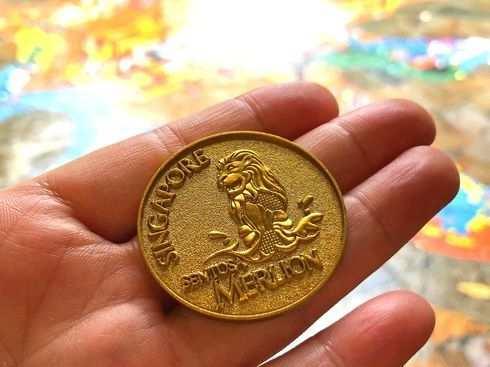 マーライオンタワー(セントーサマーライオン)のコイン