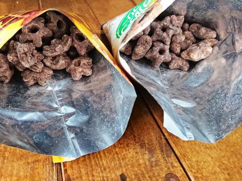 しみチョココーンのグルテンフリー・もち麦使用 新商品
