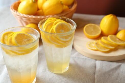 フレッシュネスバーガーのレモンドリンク