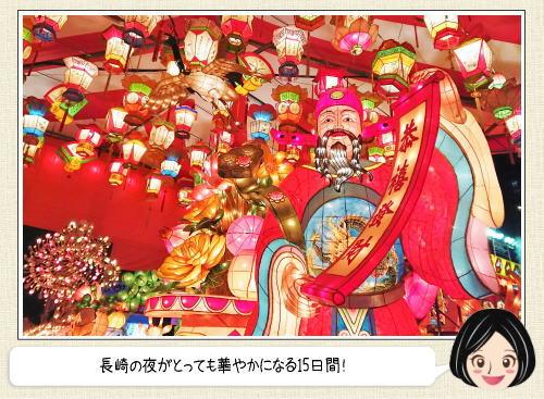 長崎ランタンフェスティバル、100万人魅了する幻想世界