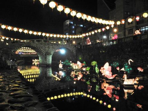長崎ランタンフェスティバル 眼鏡橋2