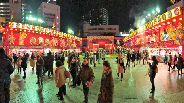 長崎ランタンフェスティバル 湊公園2