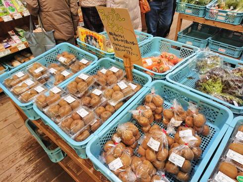 福岡県八女市 道の駅たちばな キウイ販売