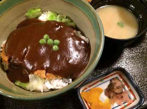 岡山 野村のデミカツ丼(ドミカツ丼)