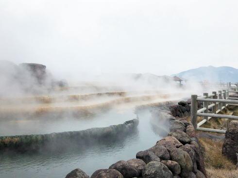 小浜温泉 ほっとふっと105にある湯棚