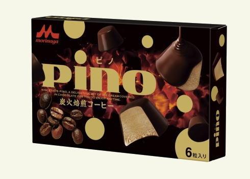 ピノ 炭火焙煎コーヒー、人気アイスにオトナ味登場!
