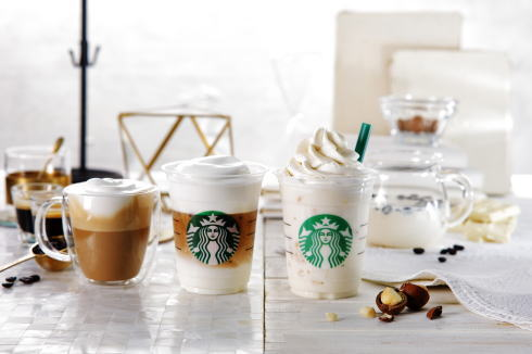 全国のスタバで初!ムースフォームの白いコーヒー体験、3月15日から