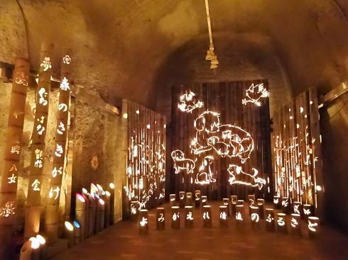 福岡県八女市 竹灯籠で「竹あかり幻想の世界」 画像8