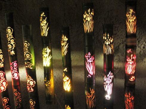 福岡県八女市 竹灯籠で「竹あかり幻想の世界」 画像7