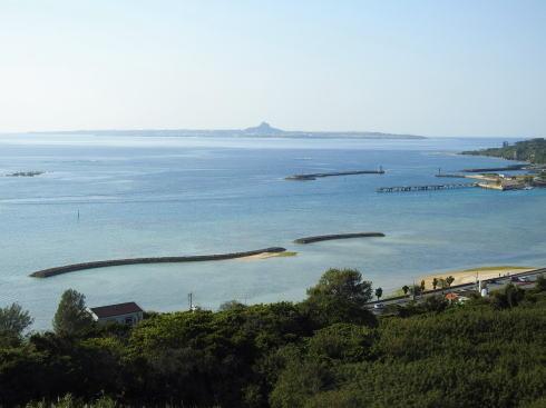 沖縄 アイスクリンカフェ アーク から見える景色