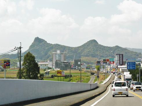 御船山 東側からの風景