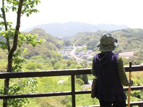 御船山楽園 花見台からの風景