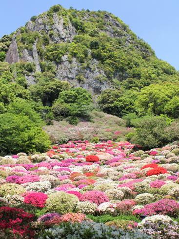 御船山楽園 つつじ谷の風景2