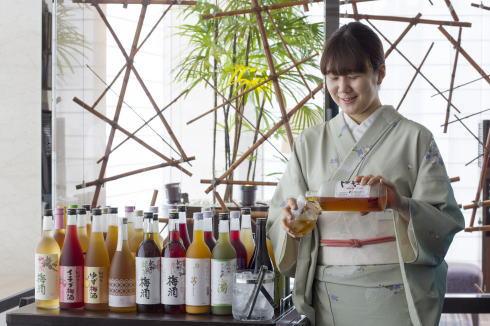 ホテル龍名館東京 梅酒BAR イメージ