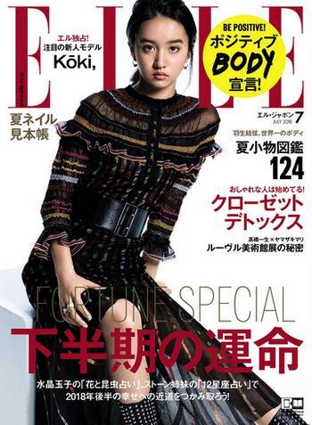 Koki 木村拓哉と工藤静香の娘がモデルデビュー