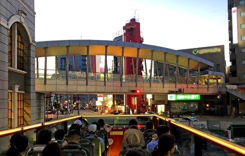 福岡オープントップバスでめぐる博多のまち