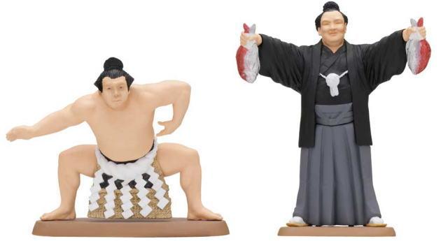 大相撲のフィギュア、カプセルトイに