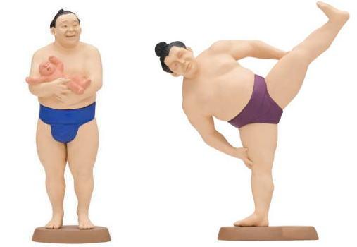 大相撲のフィギュア、カプセルトイに登場