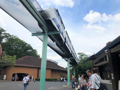 東山動物園 スカイビュートレイン