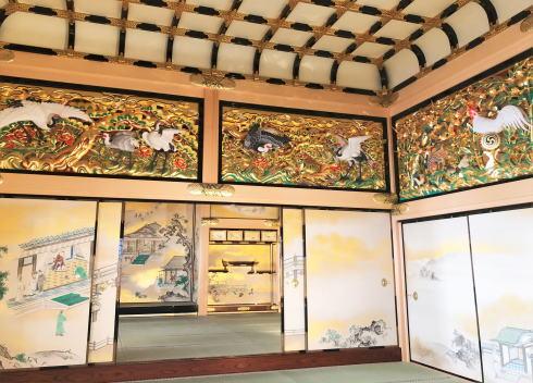 名古屋城本丸御殿 上洛殿の襖絵