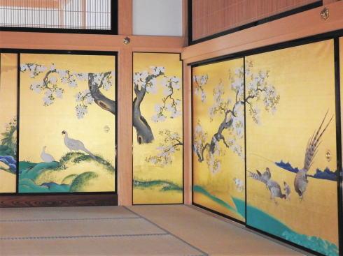名古屋城本丸御殿 鳥の襖絵