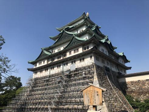 名古屋城 天守閣の画像