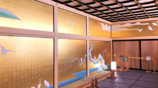 名古屋城本丸御殿 上洛殿の襖絵2