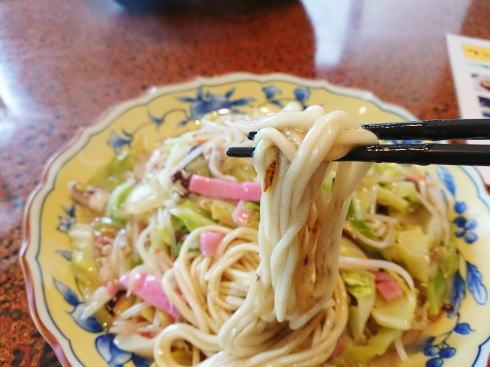 お食事処 心の 皿うどん(太麺)