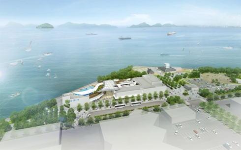 四国水族館 完成イメージ