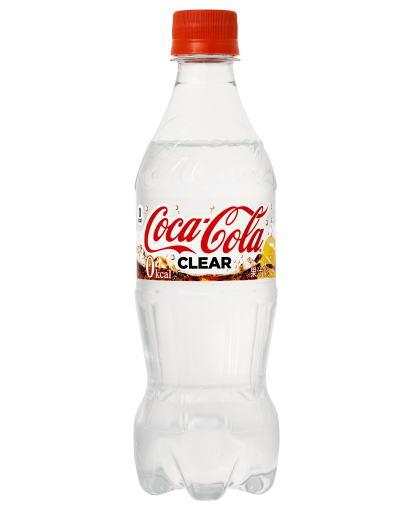 透明飲料 コカコーラクリア