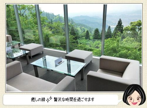 福岡絶景カフェ 茶房わらび野 店内の様子2