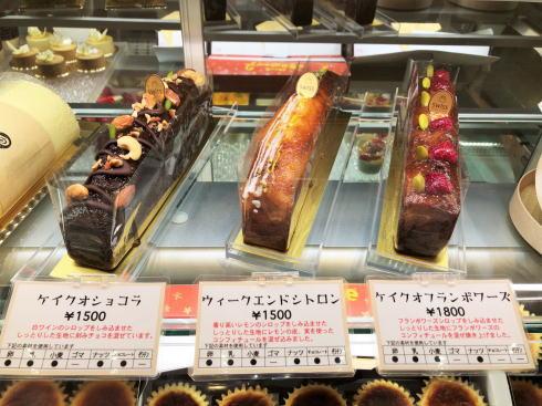 熊本 洋菓子店 スイス(swiss)のショーケース2