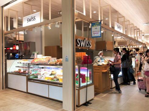 熊本駅 よかモン市場内にある スイス(swiss)