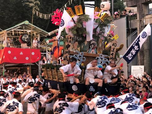 ふんどし男たち爆走!博多祇園山笠フィナーレ「追い山笠」
