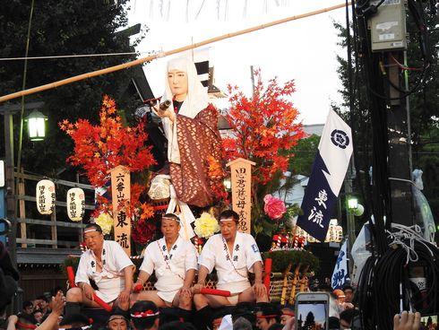 博多祇園山笠「追い山笠」の写真3