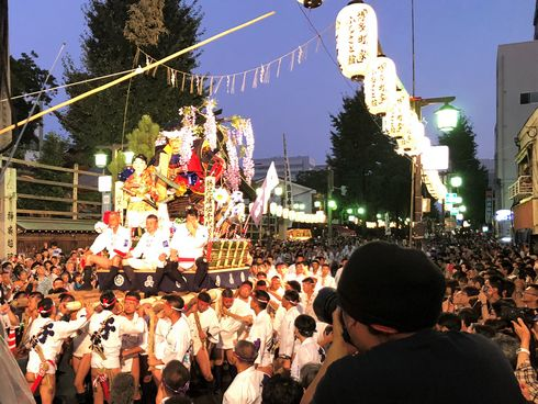 博多祇園山笠「追い山笠」の写真9