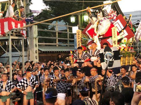 博多祇園山笠「追い山笠」の写真4