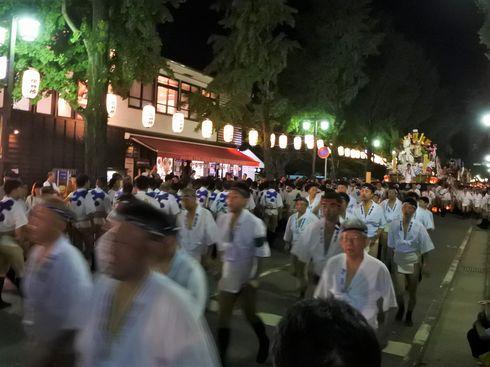 博多祇園山笠「追い山笠」の前に参拝