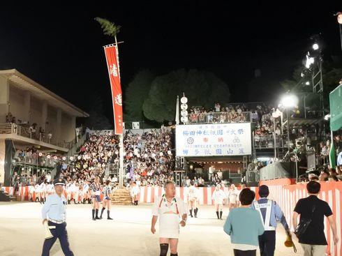 博多祇園山笠「追い山笠」の写真8