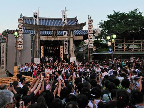 博多祇園山笠 櫛田神社